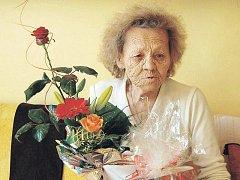 Stanislava Kvardová oslavila dvaadevadesáté narozeniny
