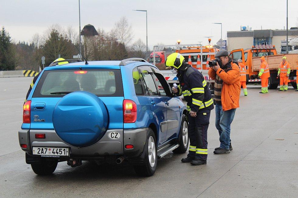 Protiepidemiologické opatření na hraničním přechodu v Rozvadově