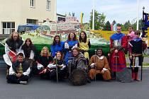 Tachovská skupina historického šermu s názvem Zlatý grál prožila uplynulý víkend opravdu dobově.