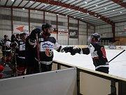 Hokejisté z Tachova se utkali s výběrem z Chotíkova.