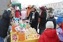 Mikulášský trh na kladrubském náměstí.