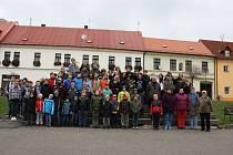 POCHOD PROTI DIABETU podpořilo v Kladrubech na šest desítek lidí.