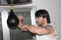Boxerský trénink Václava Bezdičky