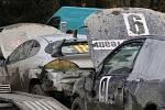 Na šachtě u Zadního Chodova burácely motory soutěžních vozů