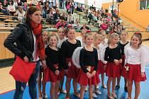 Malé tanečnice uspěly v Plzni v konkurenci tanečních skupin z Plzeňského a Karlovarského kraje