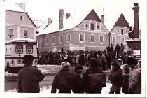 Generální stávka před 30 lety v Plané.