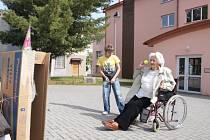 U červeného kříže závodili invalidé.