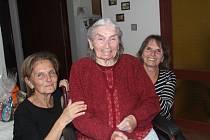 Božena Kubínová oslavila svoje 100. narozeniny.