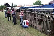 Výstava drobného zvířectva, kterou uspořádali tamní chovatelé, byla součástí programu pouťových oslav v Kladrubech.