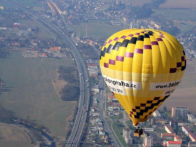 Ilustrační snímek. Balon.