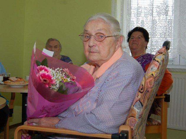 Anna Voráčková oslavila své devadesáté narozeniny.