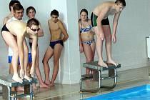Přimdští školáci (na snímku) patří mezi nejlepší dětské plavce regionu i díky tomu, že mají bazén v místě školní docházky.