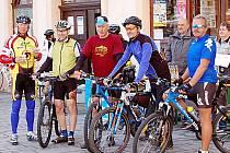 Cykloturisté v Tachově.