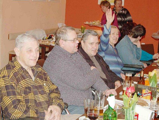Tachovští invalidé v pátek hodnotili uplynulý rok