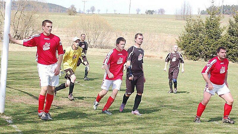 Fotbal: Damnov - Vranov