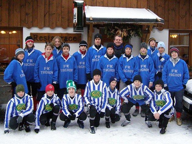 Divizní žáci FK Tachov se vrátili ze zimního soustředění v Hojsově Stráži