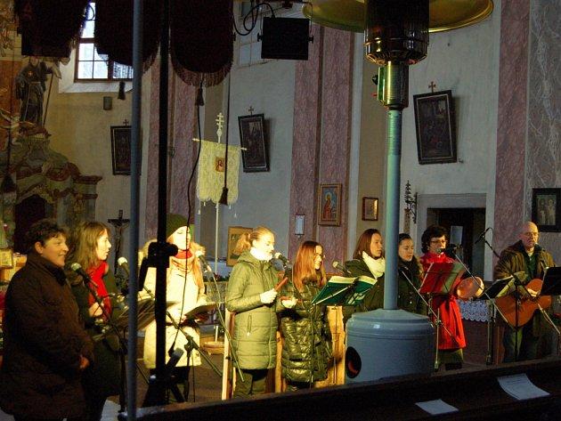 Tříkrálový koncert v kostele sv. Máří Magdalény v Tachově.