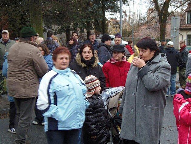 Novoročním punčem a ohňostrojem oslavili 1. ledna příchod nového roku ve Stříbře.