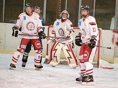 Z dalšího vítězství se radovali hokejisté Tachova.