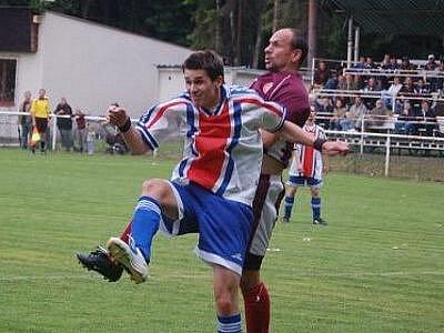 V prvním utkání o záchranu v 1. B třídě zvítězil S. K. Lázně nad Un. Sparta Plzeň 1:0