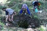 Dobrovolníci zvelebují zaniklou Horní Vísku
