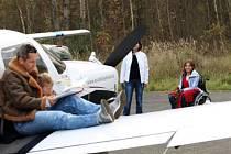 PRVNÍ MYŠLENKOU bylo focení na letadlech. Název projektu se přímo nabízel.