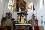 Kostel sv. Jiří v Černošíně prochází rekonstrukcí. Návštěvníci ho mohli navštívit o pouti sv. Jiří, poté se pro veřejnost opět uzavře.