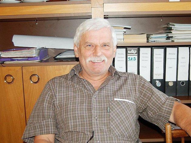 PAVEL ŠRÁMEK, jeden ze zakladatelů tachovského Genového sadu krajových ovocných odrůd.