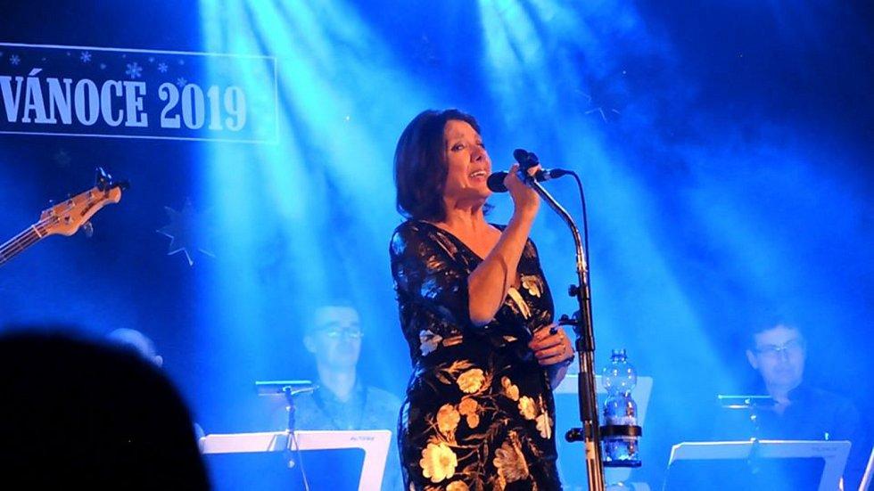 Z koncertu Marie Rottrové.