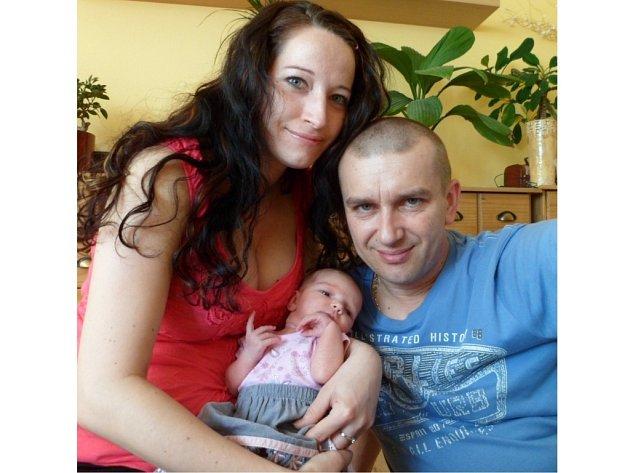 Thea Horváthová (49cm,  3250g) se narodila 16. dubna na maminčiny narozeniny Denise a Pavlu Horváthovým ze Studánky v nemocnici Stod, kde přišla na svět jako letošní sté miminko.