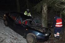 Nehody se staly v noci na neděli na Tachovsku.