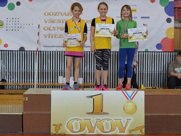 Z okresního kola soutěže OVOV v Tachově.