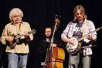 Robert Křesťan s kapelou Druhá tráva vystoupil v pátek ve Stříbře