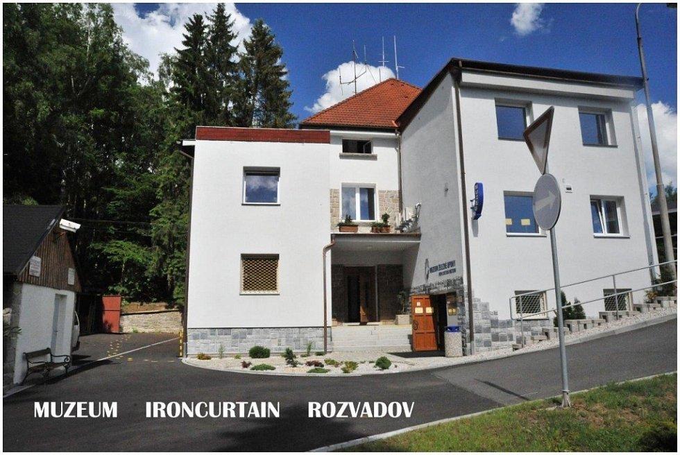 Muzeum železné opony v Rozvadově.