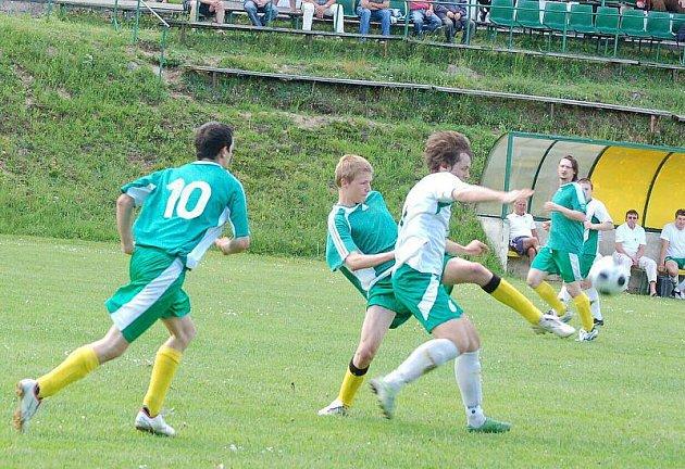 Fotbal: Přimda vs. Halže