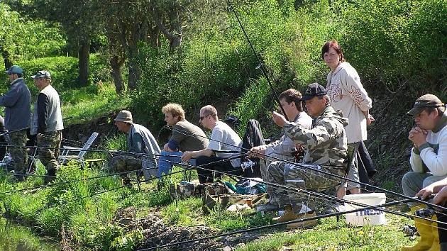 V Sulislavi u Stříbra se konaly rybářské závody