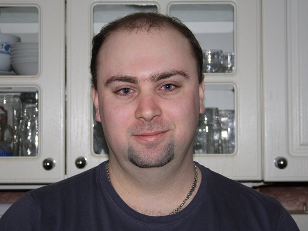 starosta hasičů Jaroslav Mikota