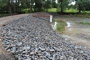 Rekonstrukce rybníků v Nové Vsi.