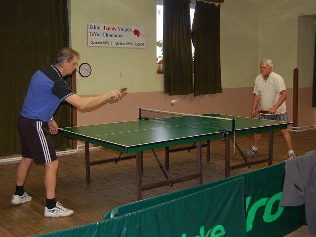 Při turnaji v Boru se utkali Josef Vašíček s Josefem Kortanem.