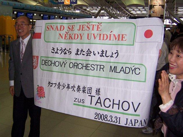 Dechový orchestr mladých se vrátil ze zájezdu do Japonska