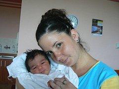 Jan (3,71 kg, 52 cm) se narodil 13. července v 18.17 hod. ve FN v Plzni. Je to prvorozený syn Jany Hrabáčkové a Jana Berkyho ze Stříbra.