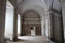 Prostory kladrubského kláštera, které změní svoji podobu.
