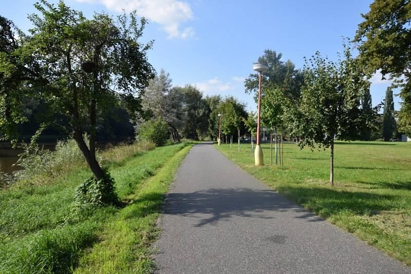 Začátkem slunného září vyrazila Monika Šavlová na výlet do Poděbrad.