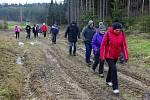 Turisté z Kostelce se vydali na pochod do Kladrub.