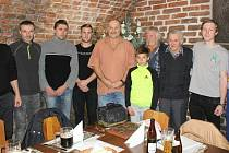 Nejlepší tipaři na vyhlášení předešlého ročníku Tip ligy Tachovského deníku.