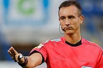 Petr Ardeleanu píská v úterý 11. června kvalifikační utkání  ME 2020 Belgie - Skotsko.