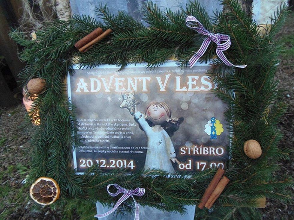 Už sedmý ročník Adventu v lese se konal v sobotu