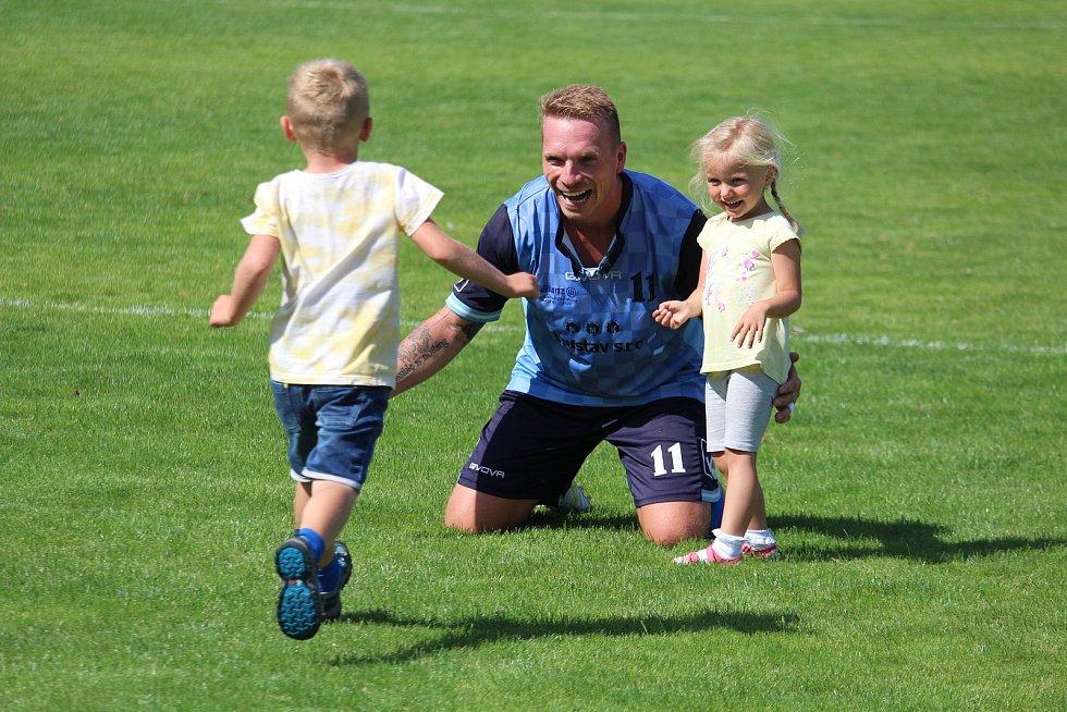 Václav Šperl po domácím utkání TJ Holýšov - Start Tlumačov 3:2.