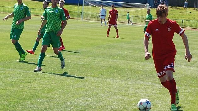 FK Tachov v České fotbalové lize dokázal zvítězit.