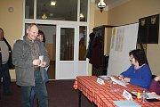Starosta obce Benešovice přišel volit